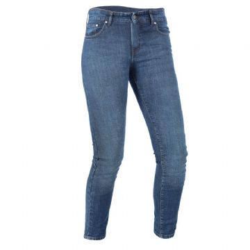 Oxford Hinksey Slim Fit Women's Motorcycle Motorbike Jeans Echo Blue